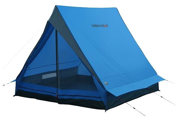 Палатка HIGH PEAK Мод. SCOUT 2 (2-x местн.)(210x140x130см)(2,50кГ)(нагрузка: 2.000мм)(синий/серый) R89021 - фото 3