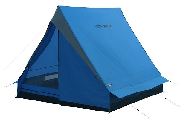 Палатка HIGH PEAK Мод. SCOUT 2 (2-x местн.)(210x140x130см)(2,50кГ)(нагрузка: 2.000мм)(синий/серый) R89021 - фото 4