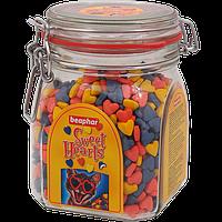 Sweet Hearts 1200 т – Витаминное лакомство для кошек и котят в виде сердечек