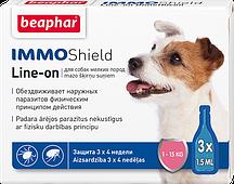 Immo Shield line-on dog S – капли для мелких собак против паразитов