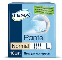 Впитывающие трусы при недержании 10 шт Tena Pants Normal L