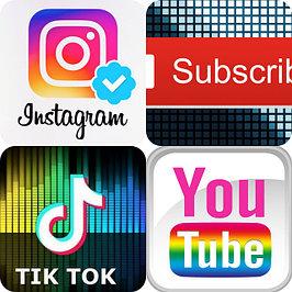 Товары для TikTok, Instagram, YouTube