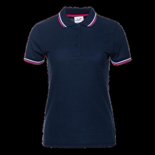 Рубашка 04WRUS_Т-синий (46) (S/44)