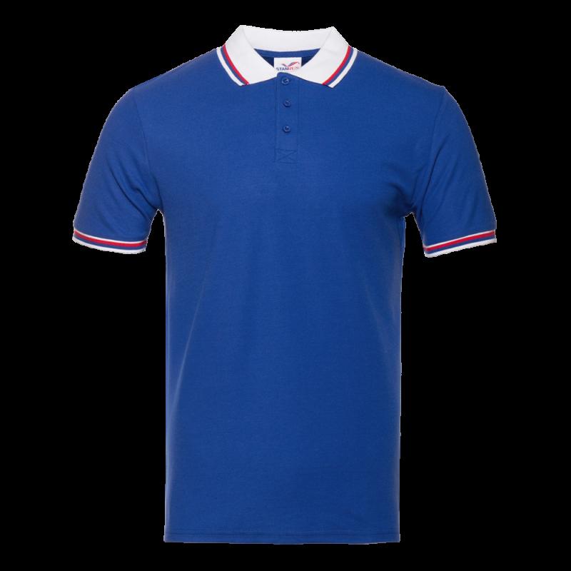 Рубашка 04RUS_Синий/Белый (16/10) (XL/52)