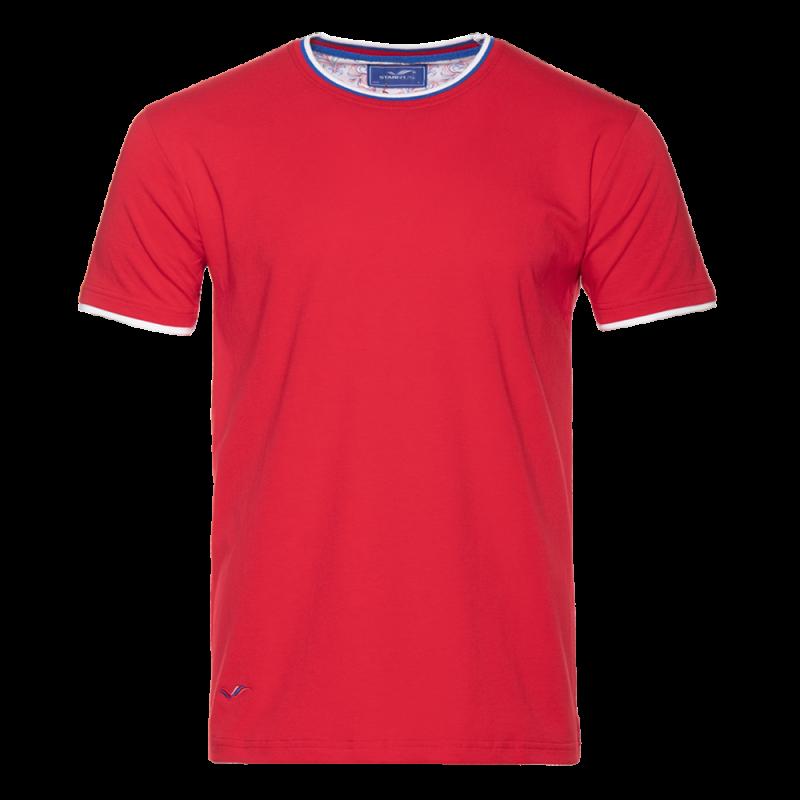 Футболка 1402_Красный (14) (XXL/54)