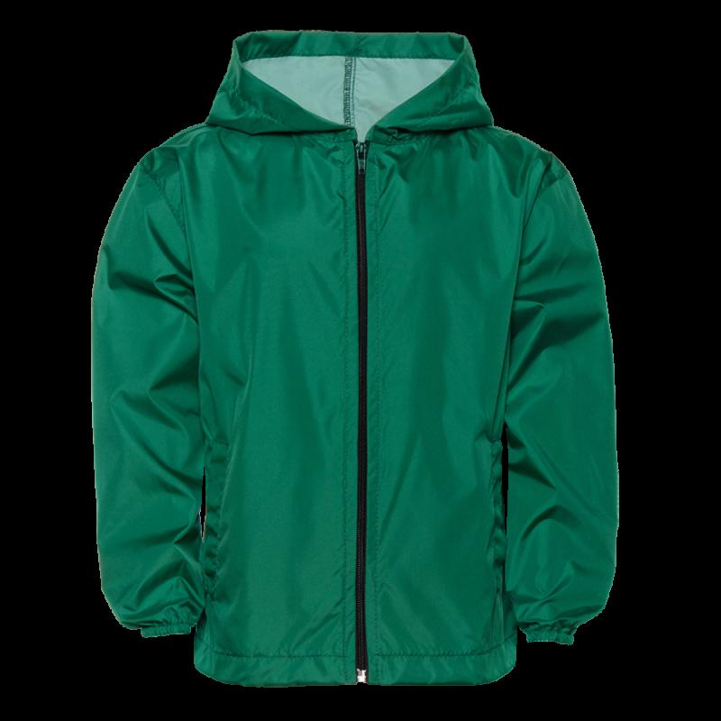 Ветровка 59J_Тёмно-зелёный (130) (10 лет)