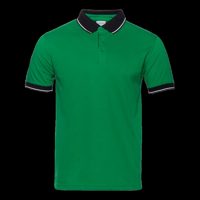 Рубашка 04C_Зелёный/Чёрный (30/20) (L/50)