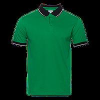 Рубашка 04C_Зелёный/Чёрный (30/20) (XL/52)