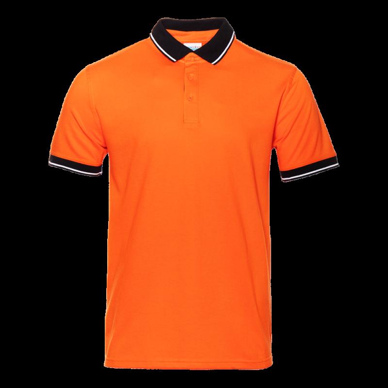 Рубашка 04C_Оранжевый/Чёрный (28/20) (S/46)