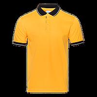Рубашка 04C_Жёлтый/Чёрный (12/20) (S/46)