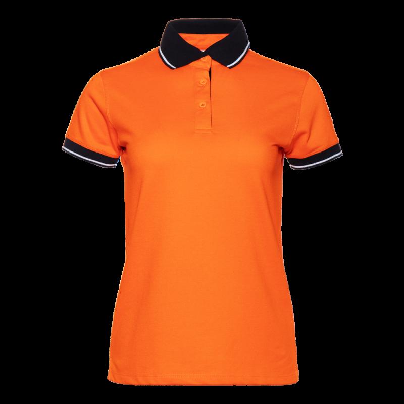 Рубашка 04CW_Оранжевый/Чёрный (28/20) (XS/42)