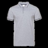 Рубашка 05_Серый меланж (50) (XL/52)