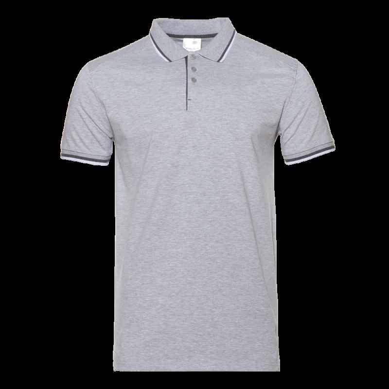 Рубашка 05_Серый меланж (50) (XXL/54)
