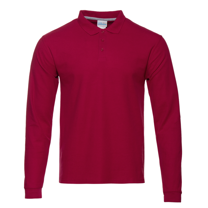 Рубашка 04S_Бордовый (66) (L/50)