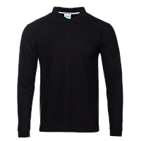 Рубашка 04S_Чёрный (20) (L/50)