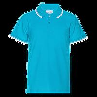Рубашка 04TJ_Бирюзовый (32) (12 лет)