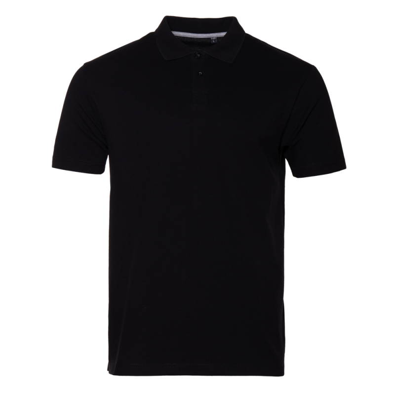 Рубашка 04B_Чёрный (20) (S/46)