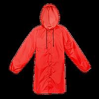 Дождевик на кнопках 301_Красный (14) (XL/52)