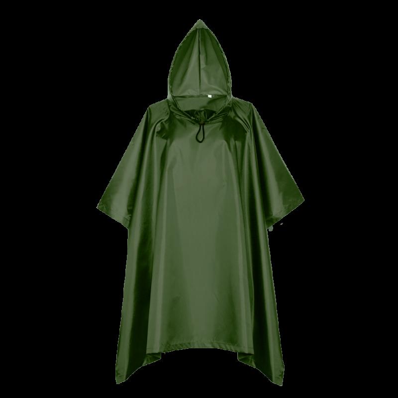 Дождевик-пончо 302_Тёмно-зелёный (130) (S/46)