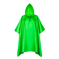 Дождевик-пончо 302_Ярко-зелёный (26) (L/50)