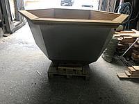 Сибирский Банный Чан, (в*д: 110*165/0,3 см., AISI-304), Под самоотделку