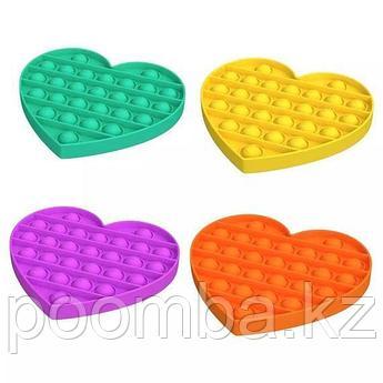 Поп Ит Pop It fidget toy 3D Сердечки в ассортименте!