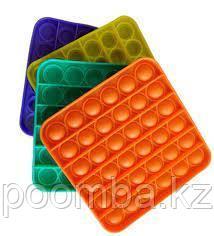 Поп Ит Pop It fidget toy 3D Квадрат в ассортименте!