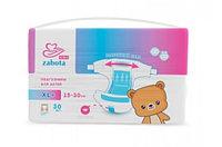 Акция 1+1 Подгузники для детей XL+ (15-30 кг) 30 шт Zabota Kids