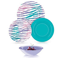Столовый сервиз Luminarc Junia Purple 24 предмета на 6 персон