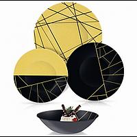 Столовый сервиз Luminarc Delnice Gold 24 предмета на 6 персон