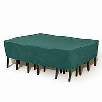 Чехол на набор садовой мебели, ПЭ, 230 × 90 × 75 см