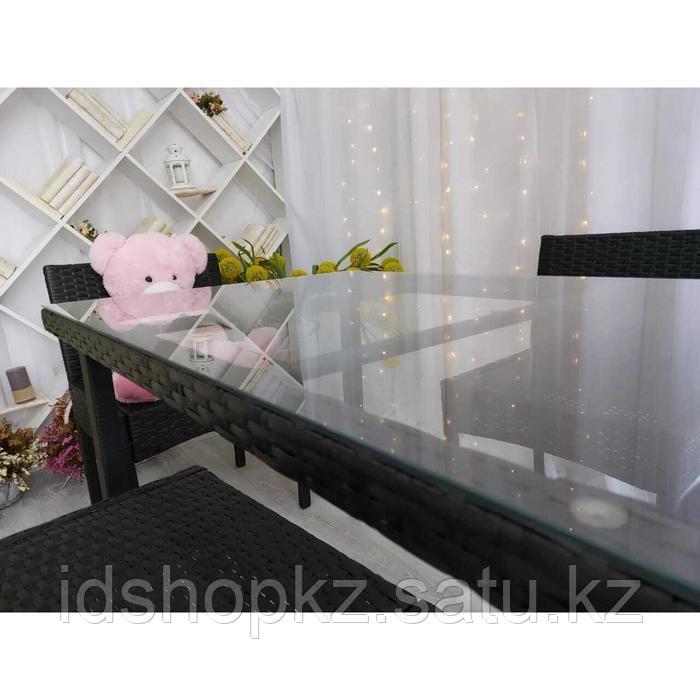 Набор садовой мебели, обеденная группа «Корсика», стол, 4 стула, искусственный ротанг - фото 6
