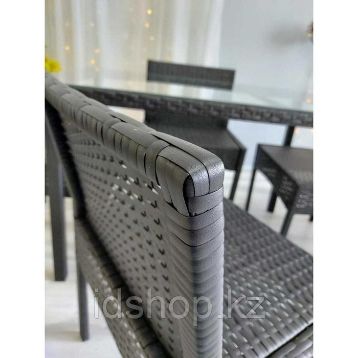 Набор садовой мебели, обеденная группа «Корсика», стол, 4 стула, искусственный ротанг - фото 7