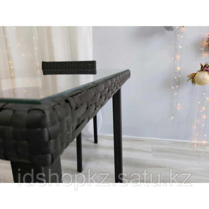 Набор садовой мебели, обеденная группа «Корсика», стол, 4 стула, искусственный ротанг - фото 8