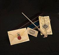 Набор Волшебная палочка Лорда Волан-де-Морта+Письмо из Хогвартса+Карта Мародеров+Билет на платформу 9 и 3/4
