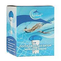Поплавок - дозатор Aqualand, многоразовый