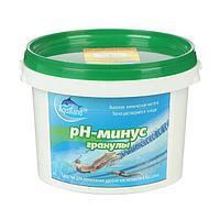 Регулятор pН-минус Aqualand, гранулы, 1 кг