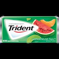 "Жевательная резинка Trident ""Watermelon Twist"" 1 шт (блок 12шт)"