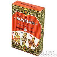 Игральные карты Золотая Россия (55 листов)