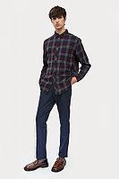 Рубашка мужская Finn Flare, цвет темно-серый, размер L