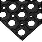 Коврик ячеистый OfficeClean, грязесборный, 80*120*1,6см, черный, фото 2