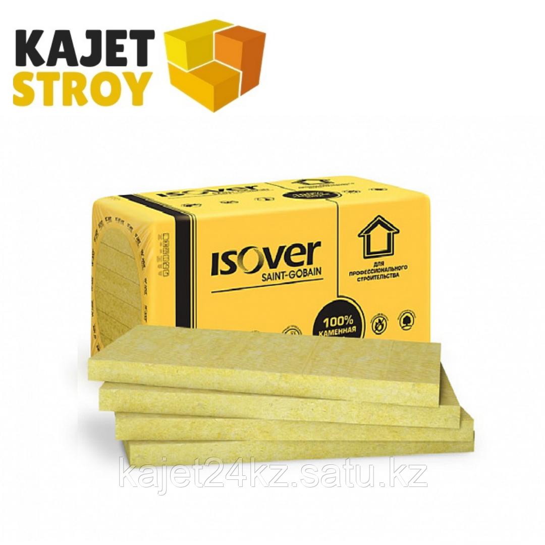 Негорючая минераловатная теплоизоляция (Каменная вата) ISOVER Венти 1000*600*50 (1уп/3,6 м2/ 6плит)