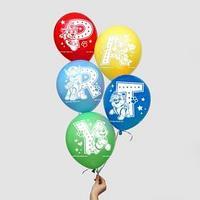 Воздушные шары 'Party', Щенячий патруль (набор 5 шт) 12 дюйм