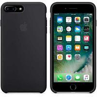 Чехол Apple iPhone 7 Plus/8 Plus Silicone Case, силиконовый, черный