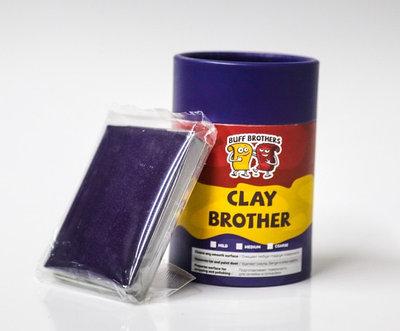 Глина полировальная абразивная BUFF BROTHERS CLAY DARK BLUE 100gr.