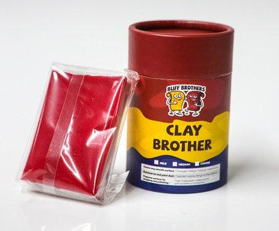 Глина полировальная полуабразивная BUFF BROTHERS CLAY MAROON 100gr.