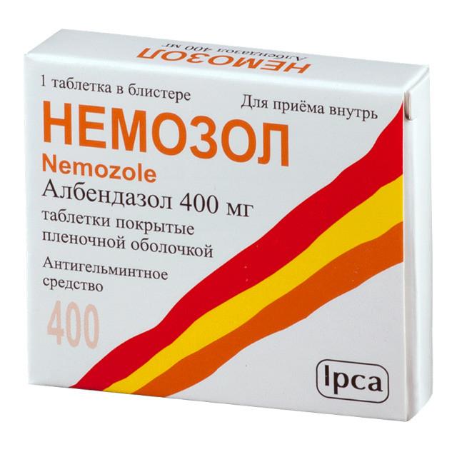 Немозол 400 мг №1 табл.