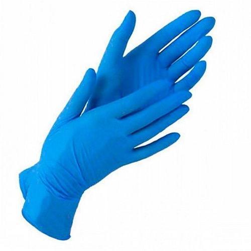 Перчатки нитриловые S