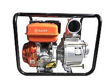 Мотопомпа бензиновая QAZAR GDP100 для грязной воды