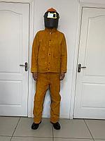 Костюм сварщика  комбенированный спилковый  с  хлопком, фото 1